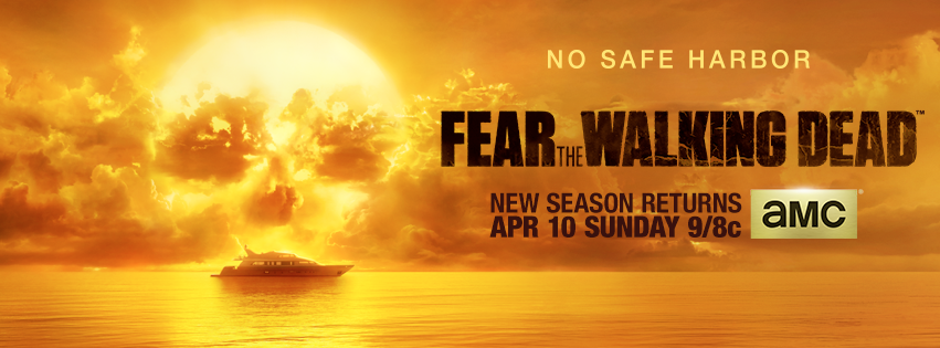 Banner americano da 2ª temporada de Fear the Walking Dead
