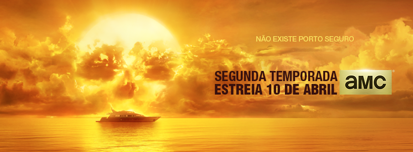 Banner brasileiro da 2ª temporada de Fear the Walking Dead