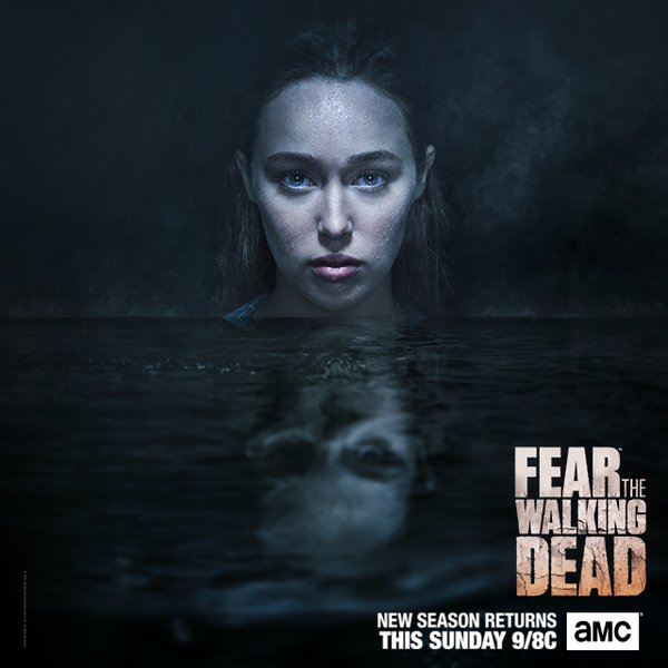 Alicia Clark - Fear the Walking Dead 2ª temporada.