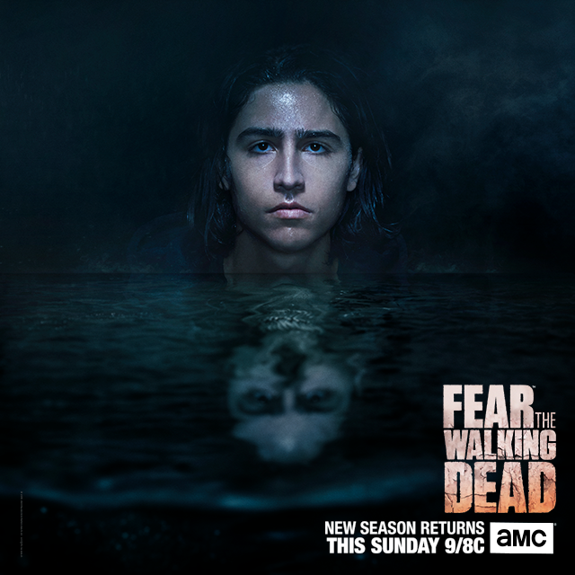 Christopher Manawa - Fear the Walking Dead 2ª temporada.