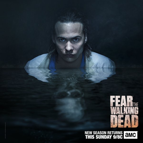 Nick Clark - Fear the Walking Dead 2ª temporada.