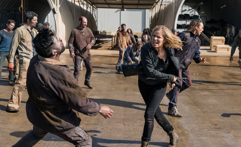 REVIEW FEAR THE WALKING DEAD S03E01 - Eye of the Beholder ...
