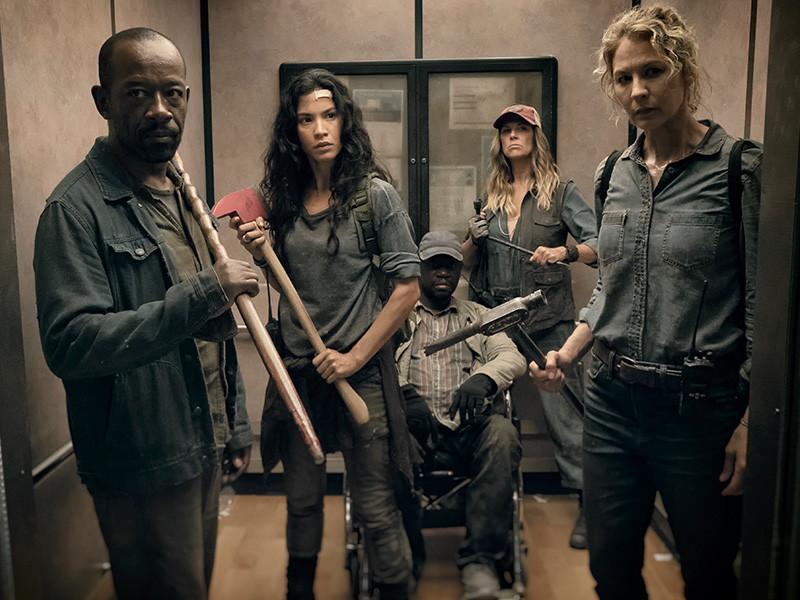 Fear the Walking Dead 4ª Temporada Episódio 15 - I Lose People ...