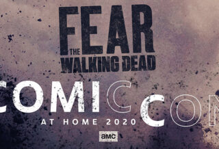imagem promocional de fear the walking dead na Comic-Con @ Home