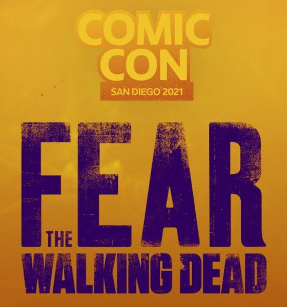 Arte de Fear the Walking Dead para a San Diego Comic Con 2021